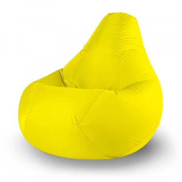 Кресло мешок Дюспо желтый