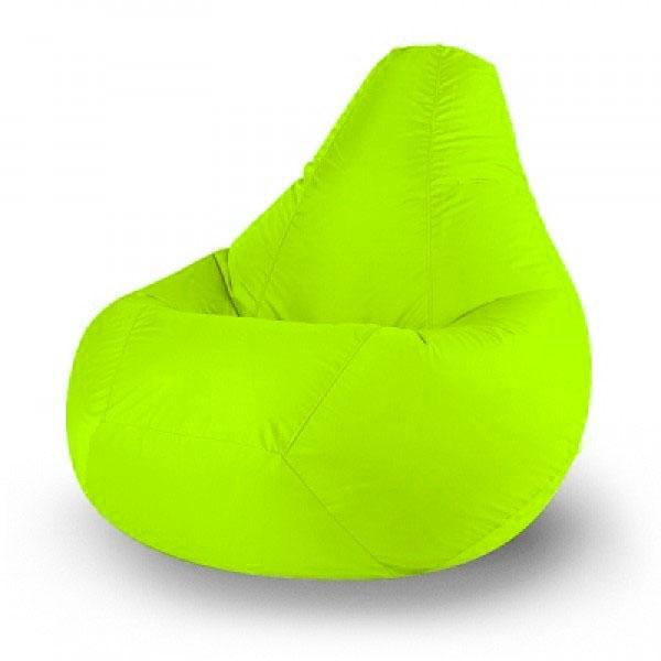 Кресло мешок Дюспо зеленое яблоко