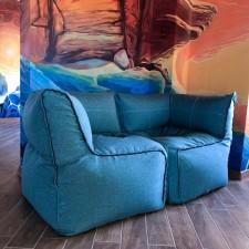 Почему выбирают бескаркасные диваны?