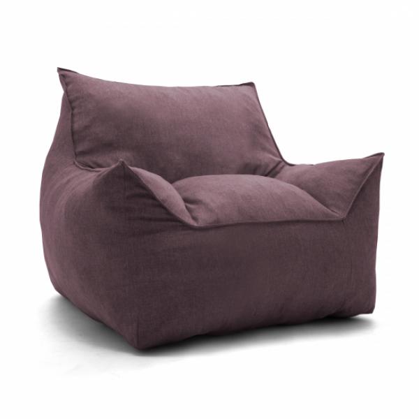 Бескаркасное кресло Империал бордо