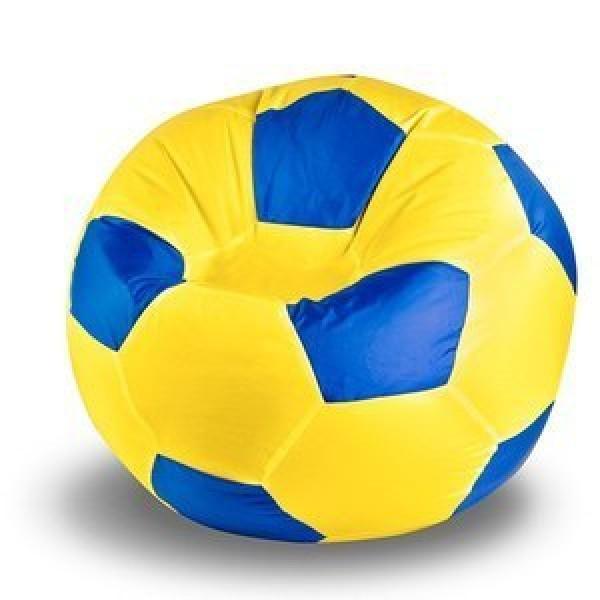 Кресло мяч жёлто-синий