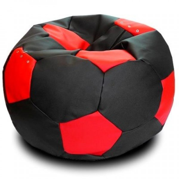 Кресло мяч эко-кожа рэд
