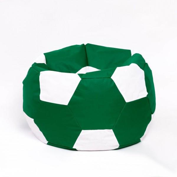 Кресло мяч велюр зеленый