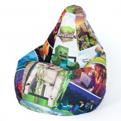 Кресло мешок Майнкрафт